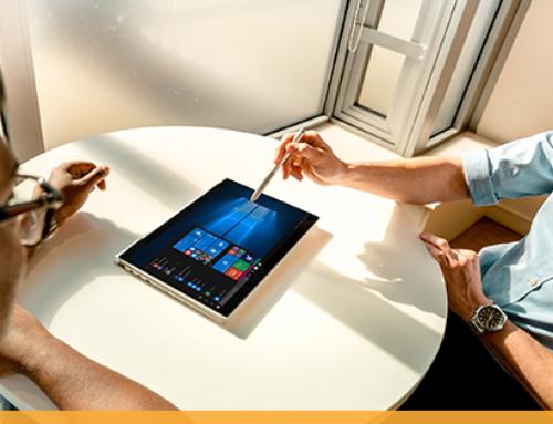 Windows 10 Pro: un gage de productivité et de sécurité accrues, surtout pour le travailleur mobile.